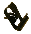 Brake and fuel line clip, 1/4