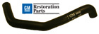Upper Radiator Hose, 1968-72 Cutlass and 442, 1969-73 88 and 98