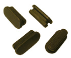 Brake Adjuster Rubber Plugs, Set of 4