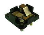 Power Window/Power Seat Switch Base, 1958-64 with corner cut base