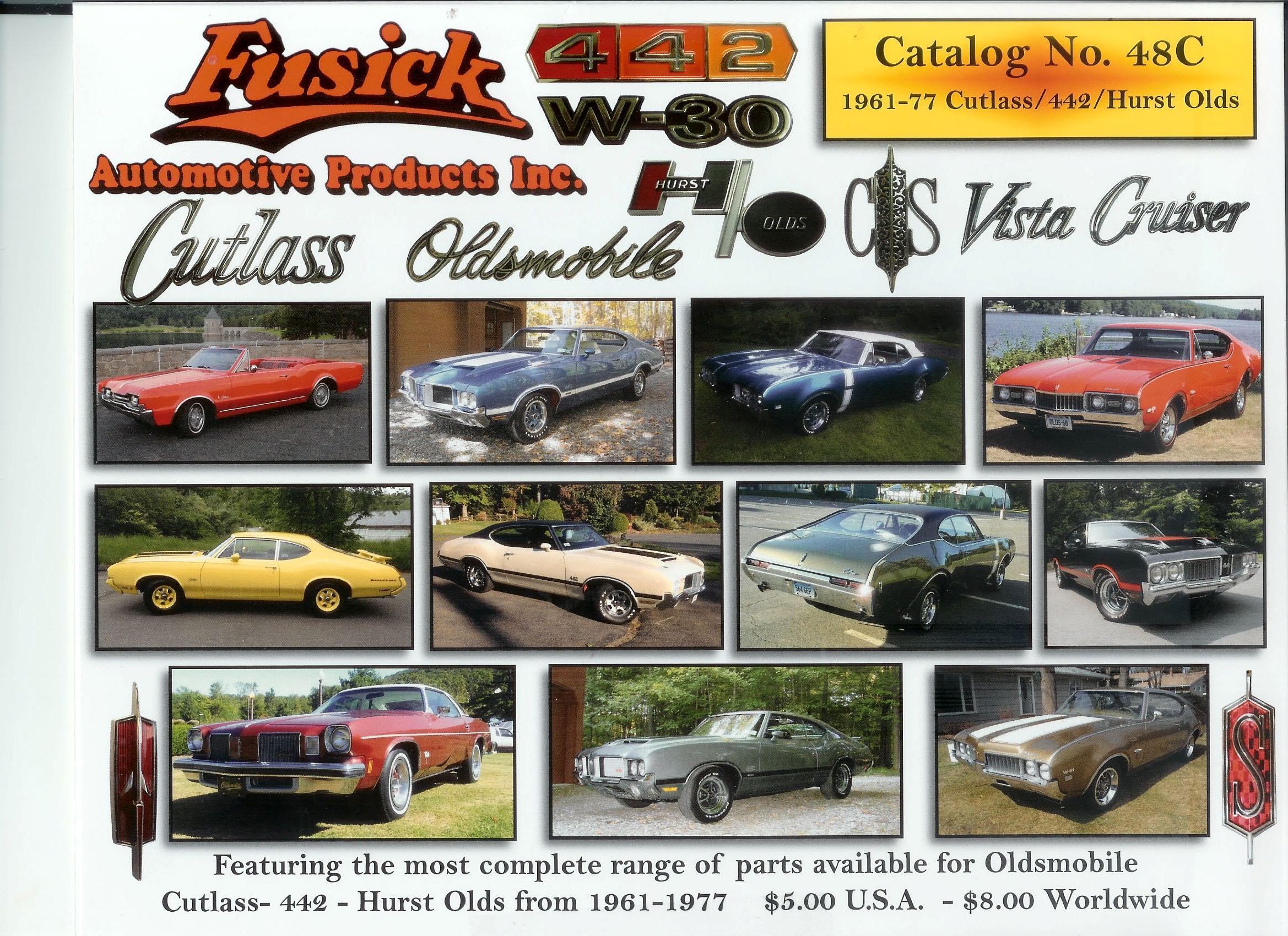 Fusick Automotive Parts Inc. Fusick Automotive Parts Inc Images. CADILLAC  MASTER PARTS MANUAL 1959 1974 HUGE MEGA PACK