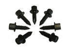 Heater Cable Screw Set, 6 pieces, 1964-72 Cutlass and 442