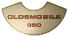Air Cleaner Decal, 1973-77 Oldsmobile 350 4 barrel