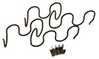 Bucket Seat Side Support Springs, 1968-72 Oldsmobile and Buick