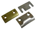 Door Jamb Striker Plates, 6 pieces, 1968-72 GM 'A'  body convertibles