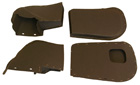 Front door heater boxes, 4 pieces, 1954-56 Cadillac