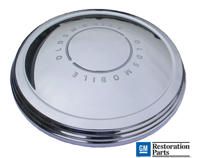 Small Disc Hub Cap set (dog dish) 1967-69 Olds Cutlass/442