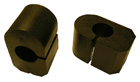 Front stabilizer bar bushings, pair, 1965-76 88/98/Starfire