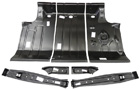Trunk Floor (7 pc Set) - 1964-67 GM 'A' bodies