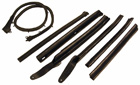 Convertible Roof Rail Weatherstrip Set - 1966-67 GM A-Body
