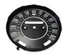 1968-69 Cutlass 442 Speedometer Gauge Face for floor shift cars