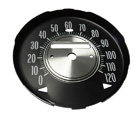 1970-72 Cutlass 442 Speedometer Gauge Face for floor shift cars