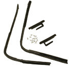 Vent Window Weatherstrips, 1950-51 Oldsmobile, 1950-53 Buick