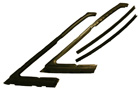 Vent Window Weatherstrips, 1965-68 Olds, Buick, Cadillac